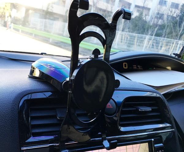 日産・セレナ ipadホルダー ダッシュボード取り付けタイプ